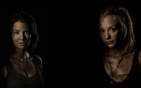 The Walking Dead, Lauren Cohan, Emily Kinney, Maggie Greene