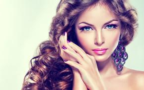 model, blue eyes, posing, girl, brunette, girls, lips