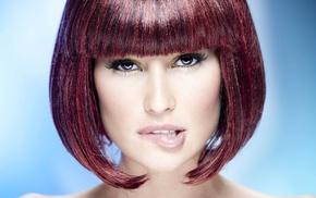 face, Isabela Soncini, bangs, girl, portrait, dyed hair
