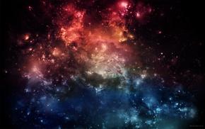 stars, space art, nebula