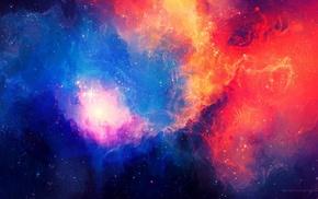 nebula, space art, TylerCreatesWorlds
