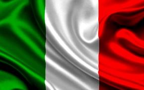 Италия, флаг, красивые