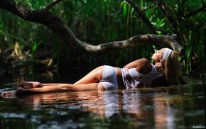 girls, girl, lies, river