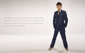 David Tennant, The Doctor, TARDIS, Tenth Doctor, Doctor Who, quote
