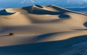 sand, desert, nature