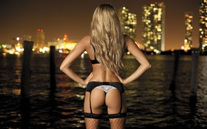 bay, ass, statuette, posing, city