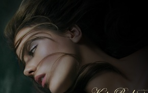 девушка, лицо, брюнетка, актриса