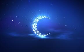 фэнтези, Ночь, луна