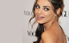 bare shoulders, Mila Kunis, brunette, girl, actress
