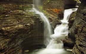water, stunner, stones, rocks, waterfall
