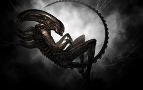 digital art, aliens, artwork, Xenomorph