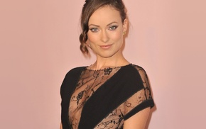 blue eyes, girl, actress, brunette, Olivia Wilde