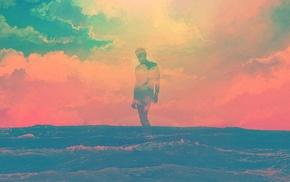 summer, artwork, Tim Navis, Tycho, Fonta