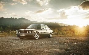 wheels, cars, dawn, tuning, retro