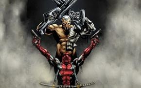 Wade Wilson, Deadpool, Cable