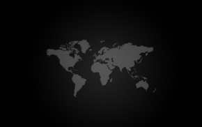 simple, world, black, white