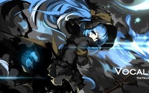 twintails, aqua hair, Hatsune Miku, aqua eyes, Vocaloid, Mivit