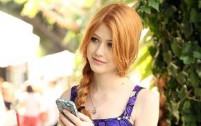 redhead, girl, Katherine Mcnamara