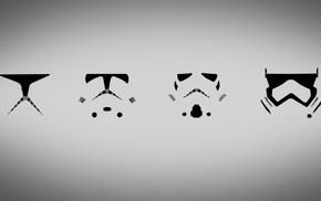 clone trooper, minimalism, simple, Star Wars, stormtrooper