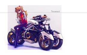 Neon Genesis Evangelion, девушки из аниме, Asuka Langley Soryu, аниме