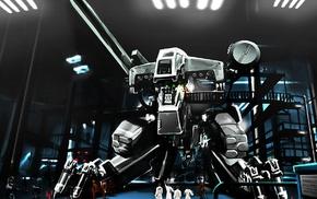 произведение искусства, робот, фантастическое исскуство, игры
