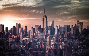 New York City, Empire State Building, cityscape