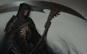 scythe, death