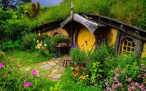 дом и уют, новая зеландия, Нора, властелин колец, холм