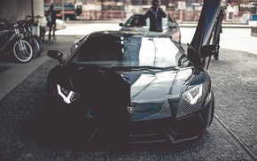 Lamborghini, sportcar, street, cars, aventador