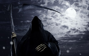 scythe, Grim Reaper, death