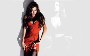 Angelina Jolie, red dress