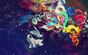 космос, абстрактные