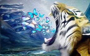 tiger, creative