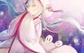anime girls, Hatsune Miku, Yuki Miku, Vocaloid