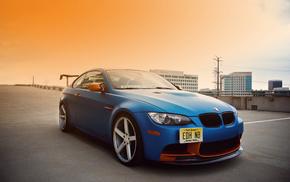 bmw, m3, tuning, автомобили, e92, синяя