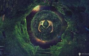 green, Desktopography