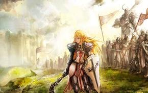 броня, рыцари, Diablo III, фантастическое исскуство