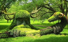 park, nature, creative, Canada