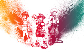 Sora Kingdom Hearts, Riku, Kingdom Hearts, Kairi
