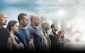 Michelle Rodrguez, Dwayne Johnson, Vin Diesel, Ludacris, Jordana Brewster, Tyrese Gibson