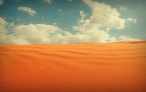 пустыня, природа, песок