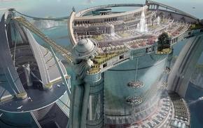 проект 3D, 3d, архитектурный, Architectuur Project