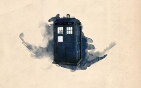 TARDIS, artwork, Doctor Who