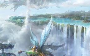 multiple display, fantasy art