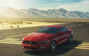 Ford, горы, спорткар, GT, суперкар, авто