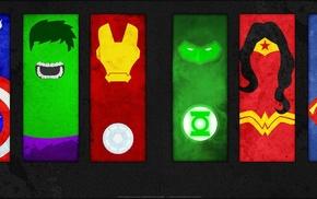 паук, мужчина, Халк, комиксы DC, Бэтмен
