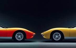 multiple display, Lamborghini, Lamborghini Miura