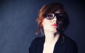 girl, redhead