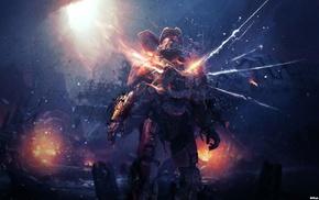 игры, Master Chief, Halo, произведение искусства