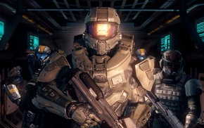 video games, Halo Master Chief Collection, Halo, Master Chief, Halo 4, 343 Industries